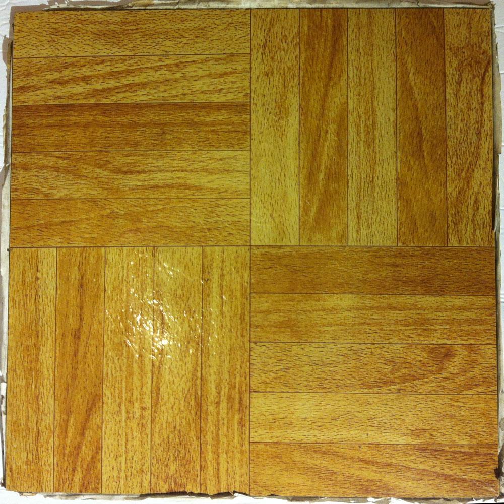 Wood Parquet Resilient Vinyl Self Adhesive Floor Tiles